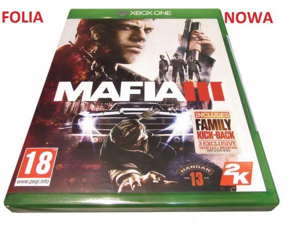 MAFIA III 3 Gra Xbox One Nowa Folia