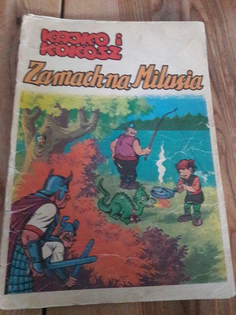 Kajko i Kokosz Zamach na Milusia Wyd 1 1983