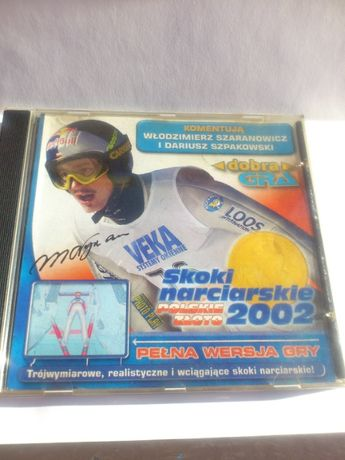Kultowa Gra Skoki Narciarskie 2002 Polskie Złoto CD PC