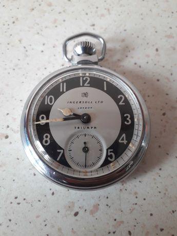 vintage zegarek ingersoll  trumph roj 1955 kieszonkowy