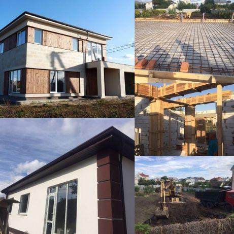 Строительство домов под ключ любой сложности. Полный спектр услуг