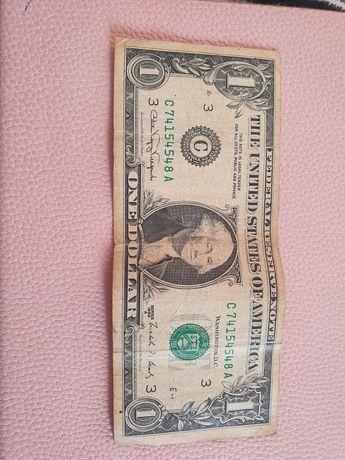 1 доллар 1988 года уникальный колекционный