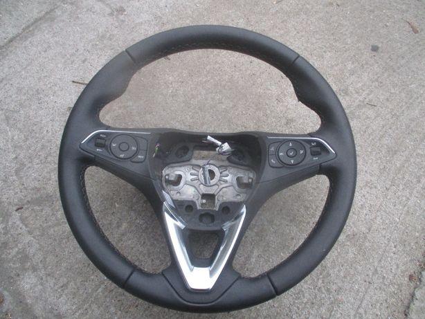 Opel Crossland kierownica skóra sterownie idealna