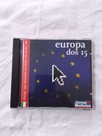 CD da coleção Europa dos 15 - JN