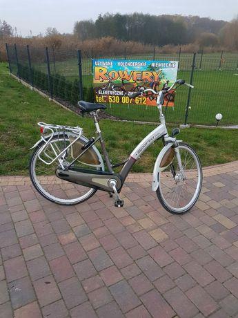 Holenderski rower elektryczny Sparta. ION DLX COMFORT