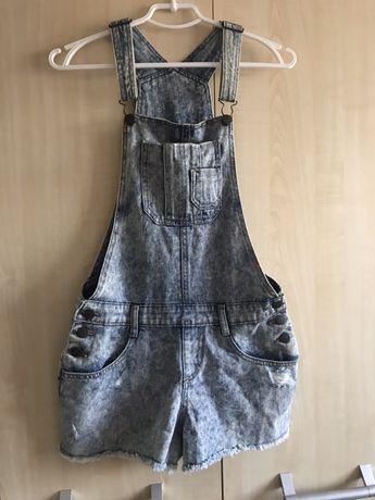 джинсовый комбинезон шорты для подростков