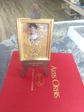 Mini Portret Adeli Bloch-Bauer (Złota Adela) - Gustav Klimt