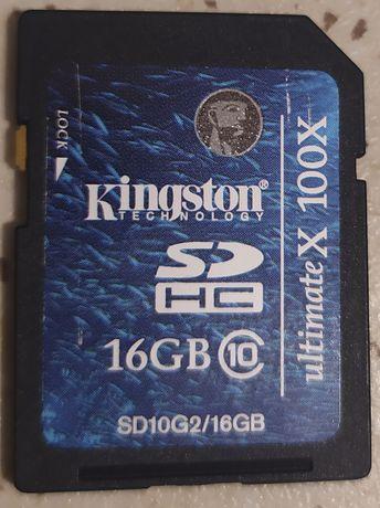 Karta pamięci 16 GB Kingston
