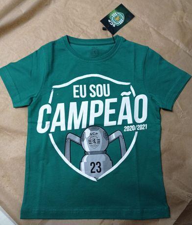 T-shirt Sporting criança NOVA