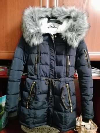 Куртка зима девушка
