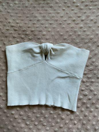 Sweterkowy crop top