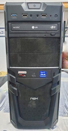 Computador Gaming - AMD Ryzen 5 2600 - Gigabyte Nvidia GeForce GXT 970
