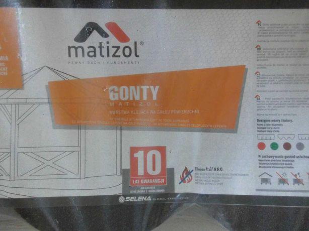 Gont papowy, bitumiczny, karpiówka - Matizol