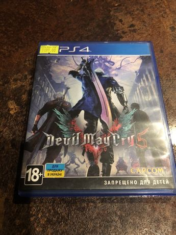 Devil May Cry 5 PS4 (РУС)