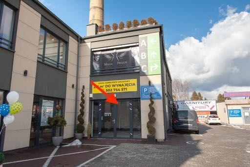 Przestronny lokal 125 m2 - parter - parking - narożnik - witryny