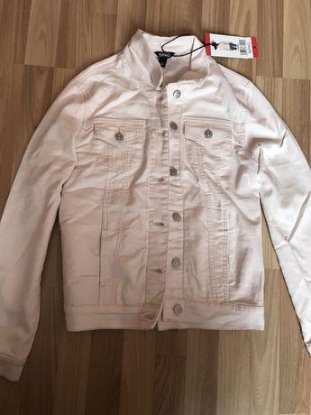 Куртка джинсовка подовжена удлененная кофта zara hm жилетка