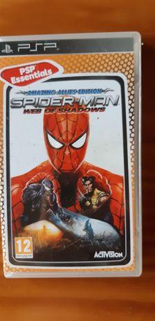 Jogo PSP Essentials Spider-Man Web of Shadows