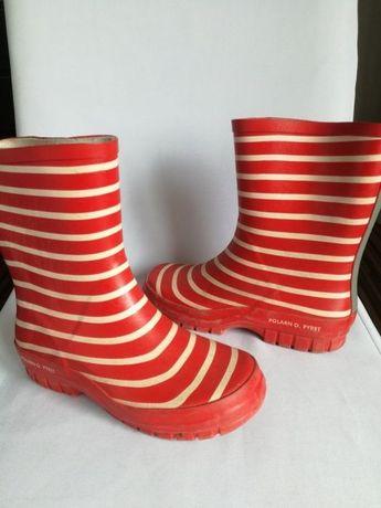 Gumiaczki gumiaki kalosze buty dziecięce dziewczęce 33 Polarn O. Pyret