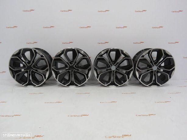 Jantes Look Renault Megane IV 17 x 7 et35 5x114 Preto + Polido