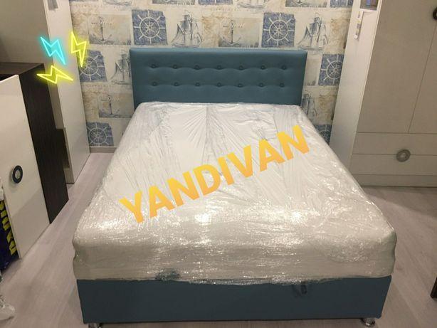 """Новая,популярная двухспальная Кровать. """"Камила"""" 80/120 со склада!"""