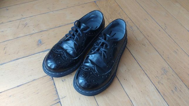 Eleganckie skórzane buty rozmiar 29
