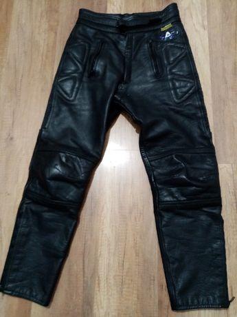 Sprzedam motocyklowe spodnie skórzane Akito