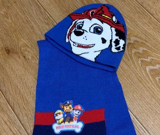 Набор комплект шарф и шапка шапочка Щенячий патруль Nickelodeon