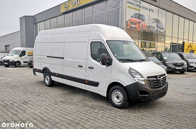 Opel Movano  Rozmiar Ma Znaczenie Największy Opel Movano L4h3