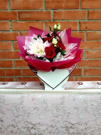Декоративні корзини для квітів. Створення подарункових композицій.
