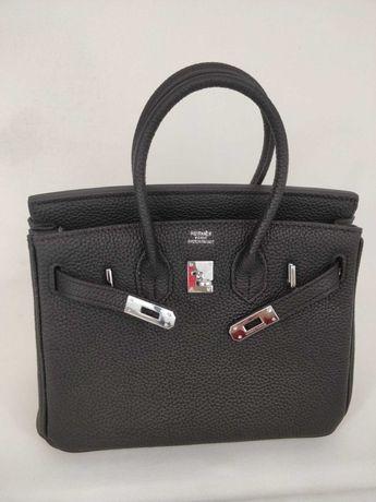 Mala Hermès Birkin Black Silver