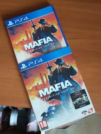 Mafia definitive edition ps4 przesyłka w cenie + NBA 2k16