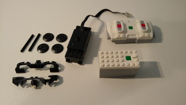 Lego pociąg, Powered Up, elektronika