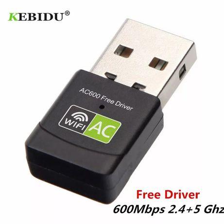 Wifi адаптер REALTEK 8811CU 5Ghz/ 2.4Ghz двухдиапазонный 600 Mbps