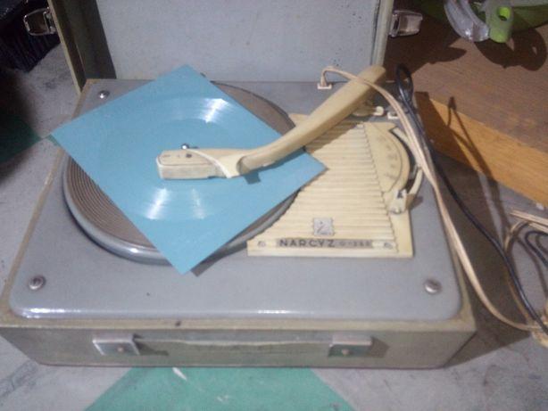 Gramofon narcyz oryginalny perlowski gramofon