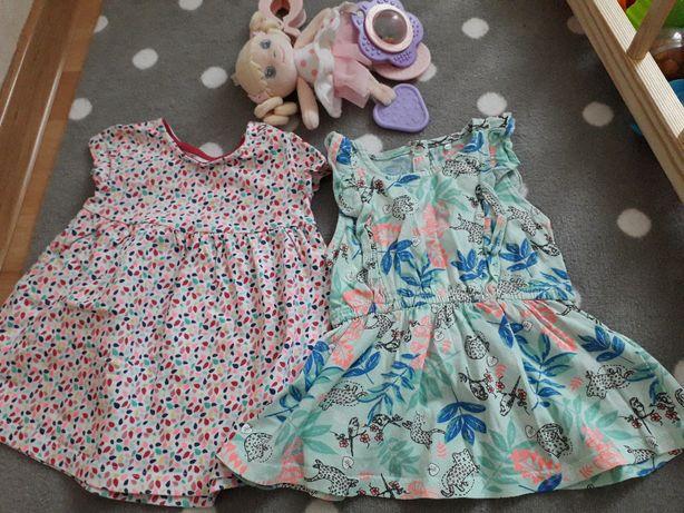 sukienka na lato letnie sukienki F&F Cool Club 56/62 0-3 msc