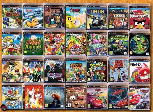 [PS3] 200 Jogos CRIANÇA/ INFANTIS < 12 Anos (Vendo à Unidade)