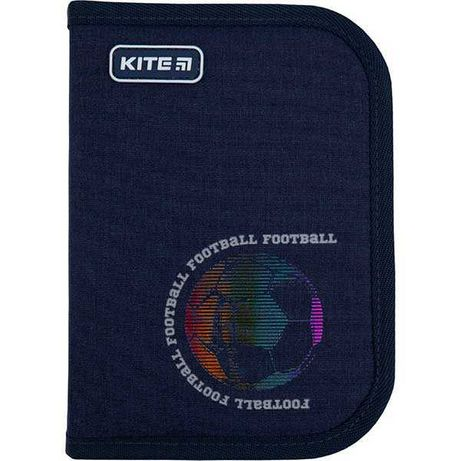 Пенал школьный Kite  Football K21-621-6 1 отделение, 1 отворот