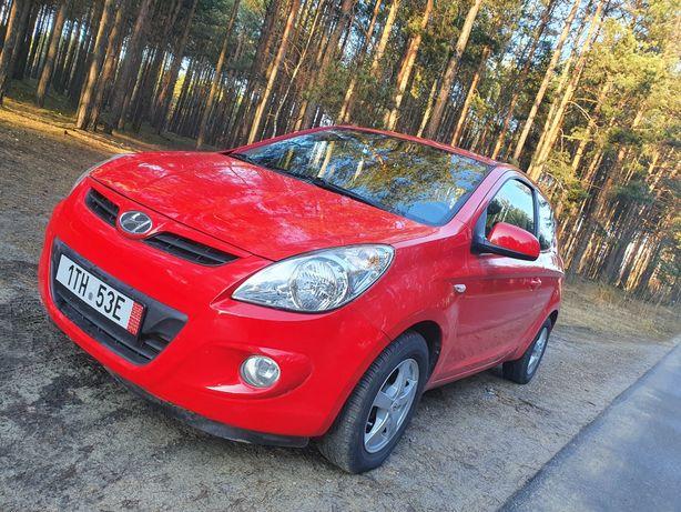 Hyundai i20 benzyna+gaz klimatyzacja z Czech po opłatach