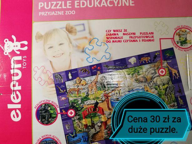 Puzzle dla dziewczynki i chłopca
