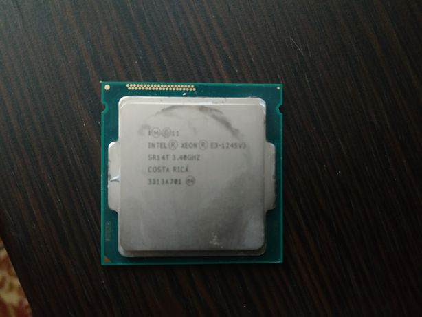 Intel Xeon E3-1245 v3 (s1150) 4 ядра 8 потоков (как i7 4770)