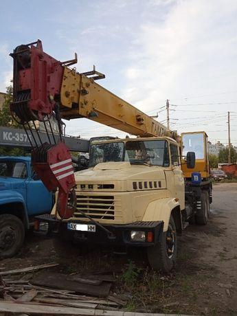 Аренда КРАНА Услуги АВТОКРАНА 20 тон по Харькову и области