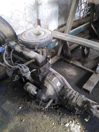 Двигатель 402 (Мотор, Двигун) ГАЗель , УАЗ , Волга 31029 + КПП 5 ступ.