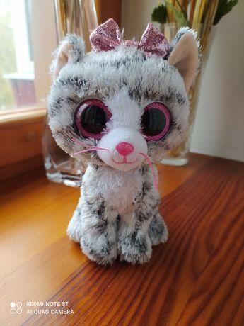 Котик серенький глаза большие розовые глазастик ТУ TU TY