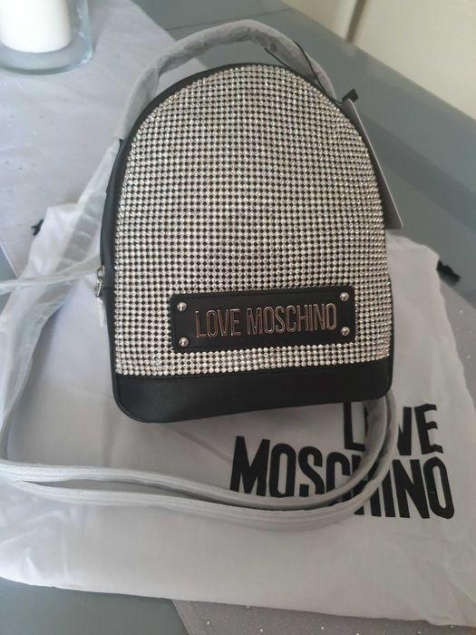 Nowy orginalny plecak Moschino Kraków - image 1