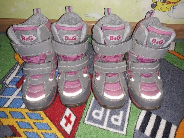 Зимние термо ботинки B&G р.29 для двойни, близняшек, двійні