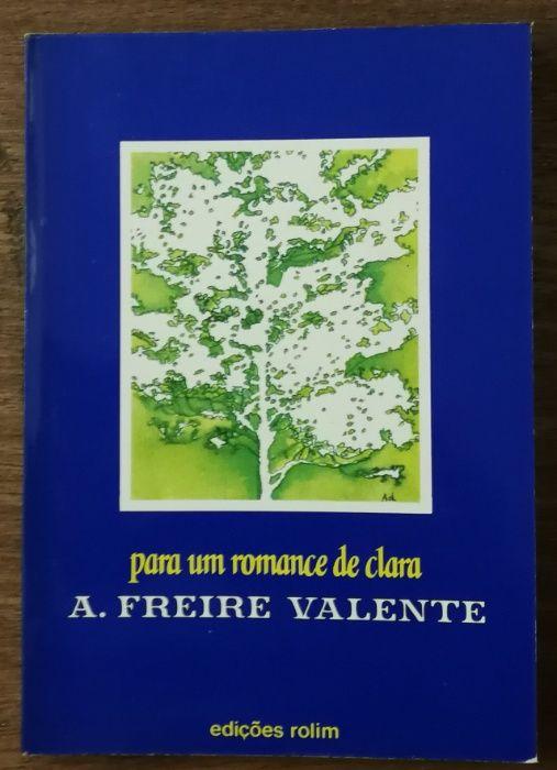 a. freire valente, para um romance de clara, edições rolim Estrela - imagem 1