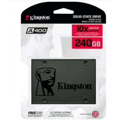 """SSD 240GB 2.5"""" Kingston SSDNow A400 SATAIII TLC"""