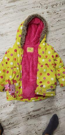 Курточка ветровка пуховик парка 4-6 лет