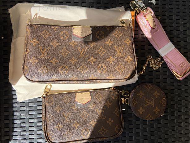 Bolsa LV Louis Vuitton Multi Pochette Nova c/caixa