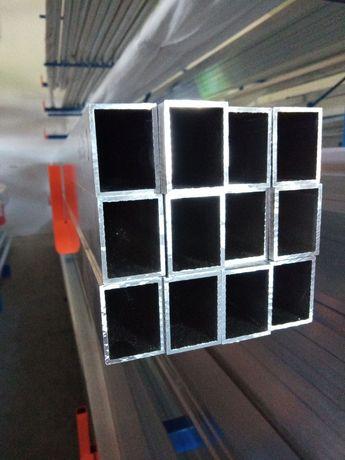 50x30x2 Profil aluminiowy, brama, ogrodzenie